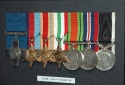 John Russell's George Cross and tother medals